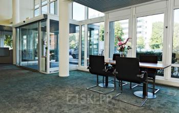 lobby kantoor Amsterdam Entrada meubilair design entree