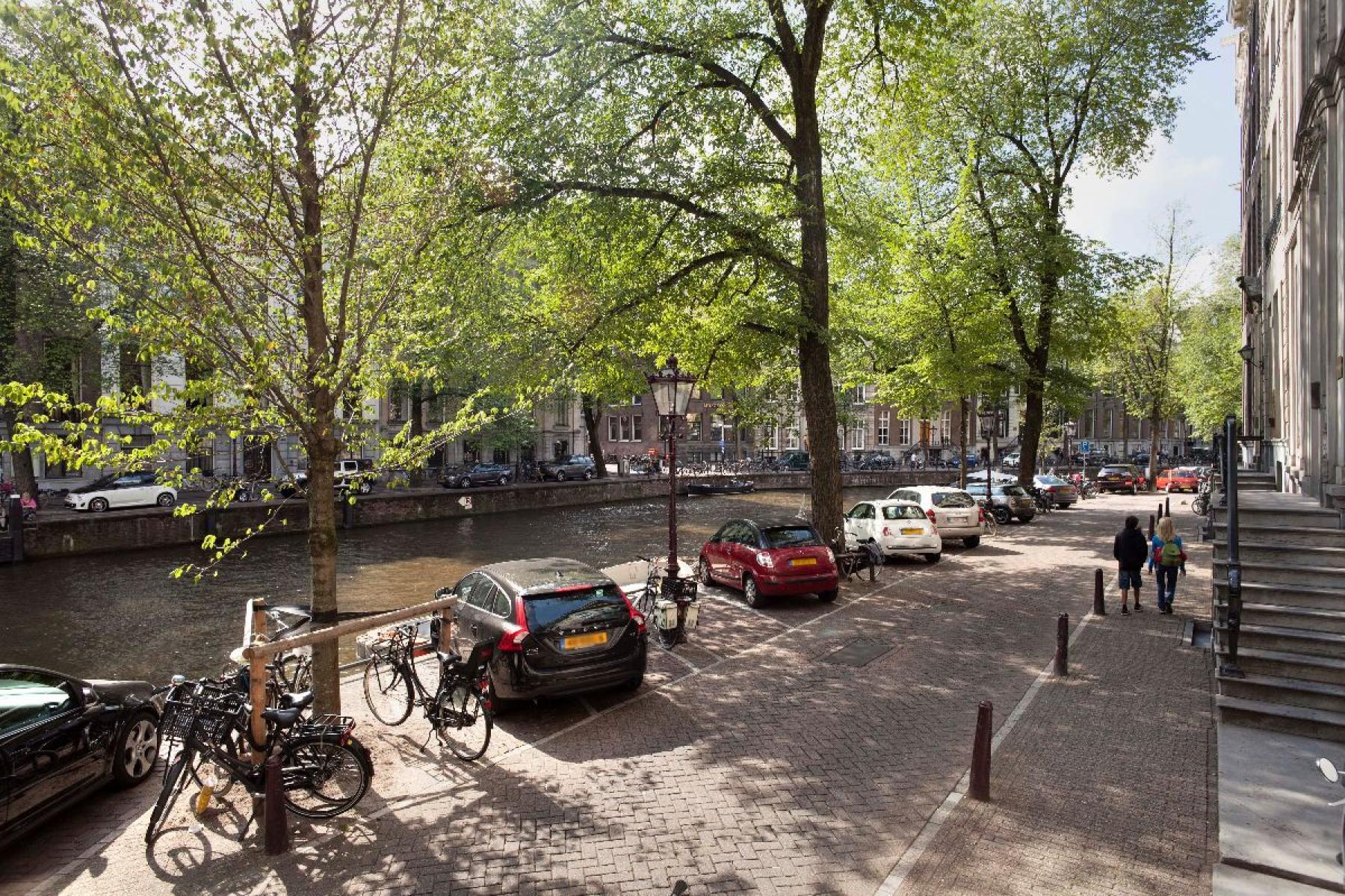 uitzicht kantoorgebouw grachtenpand amsterdam huur