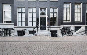 Buiten vooraanzicht kantoorgebouw Herengracht Amsterdam