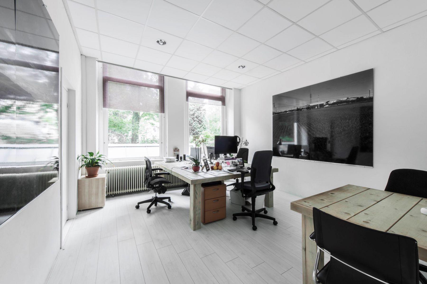 Lichtinval kantoorruimte Amsterdam Herengracht binnenzijde