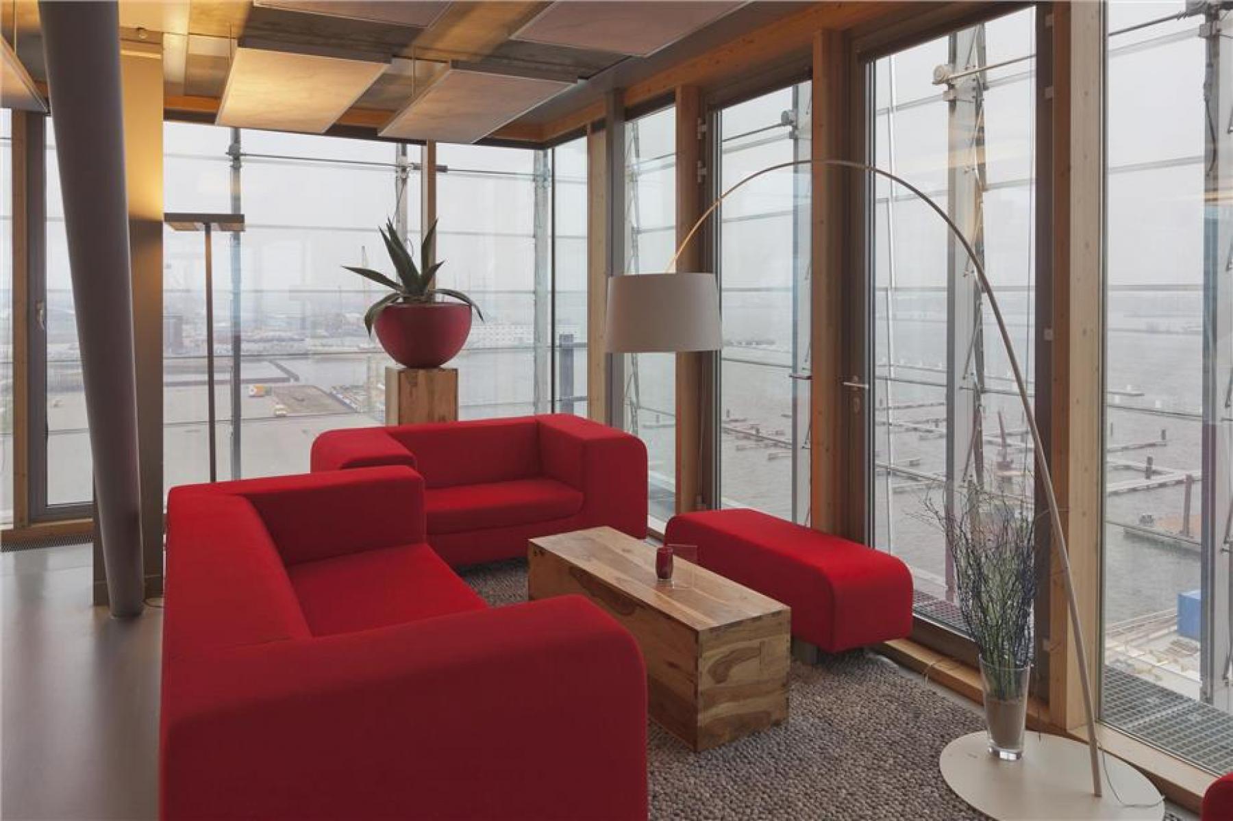 lounge kantoorgebouw amsterdam kraanspoor ij huur