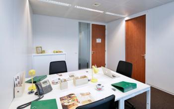Gemeubeld kantoor