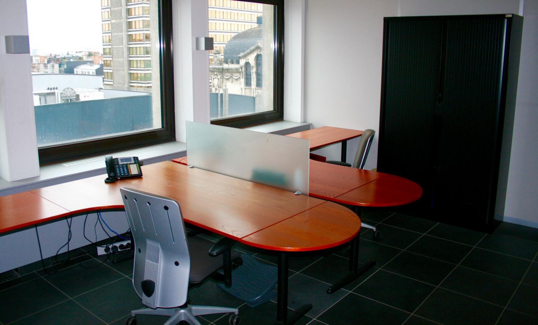 Kantoor te huur aan de Rooseveltplaats in Antwerpen Centrum
