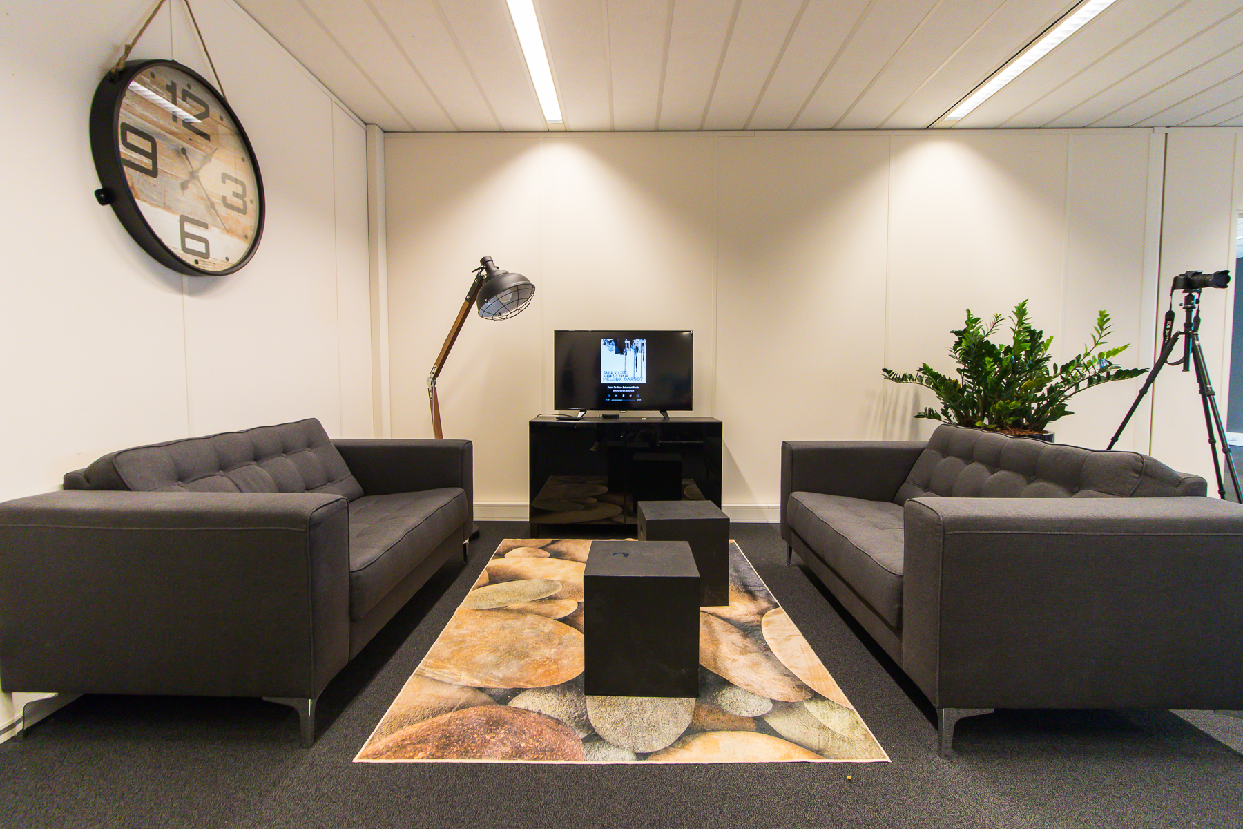 Impression of an office in the office building