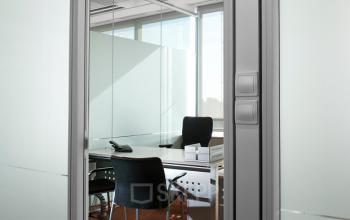 A private office from outside