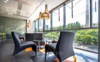 Lounge area offices Carrer de Llull