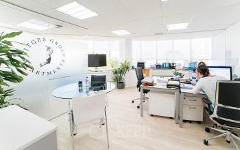 Alquilar oficinas Gran Via de Carles III 84, Barcelona (1)