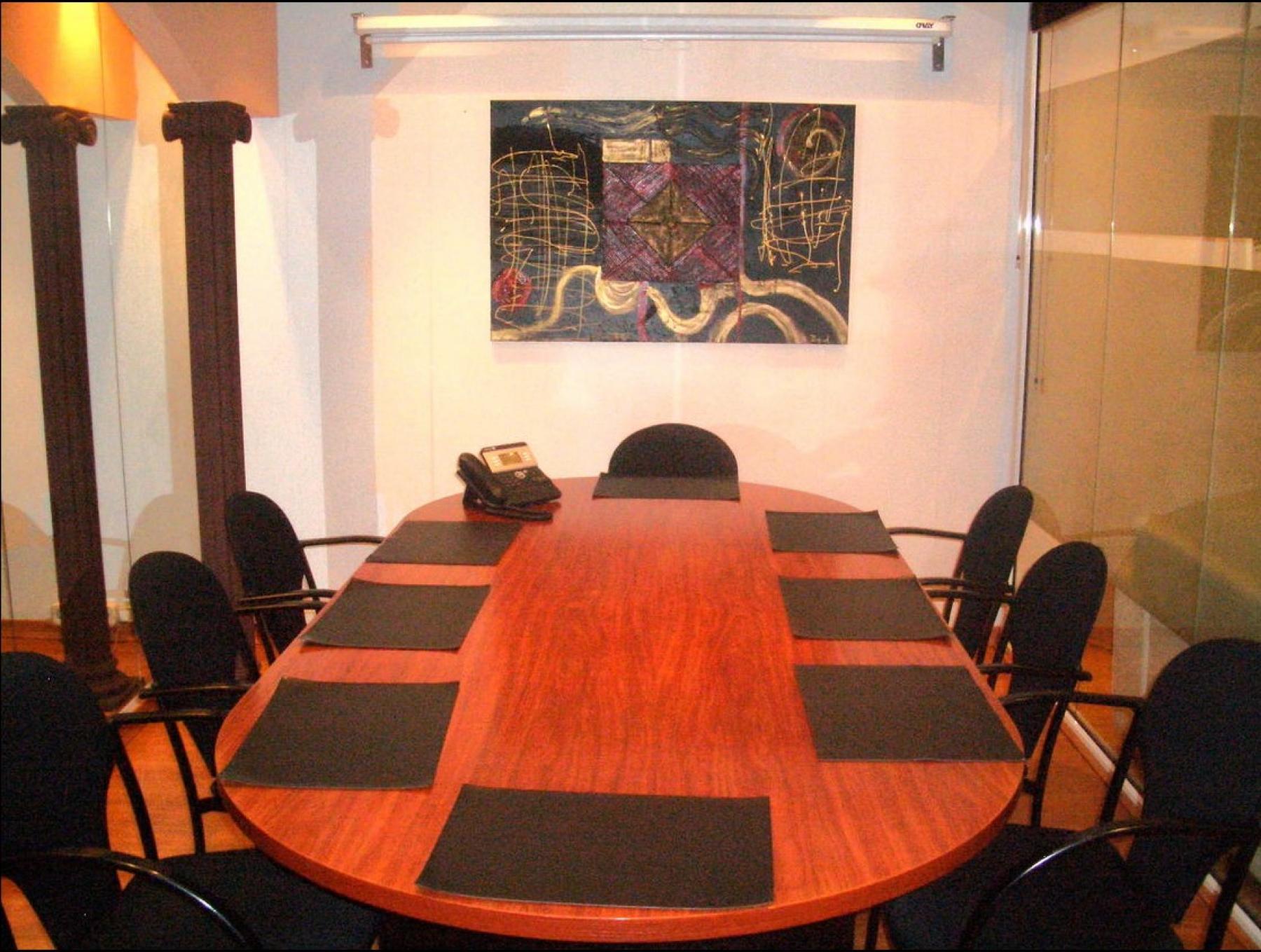 Another view of the conference room Carrer de la diputació