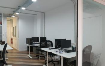 Oficinas para alquilar, listas para ocupar en Carrer de Bailén 71