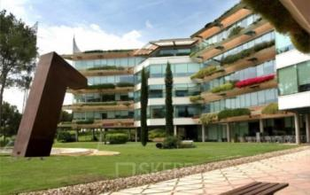 This is the outside of the office building at San Cugat I