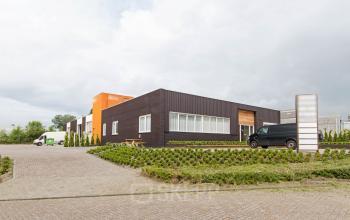 aanzicht kantoorgebouw Poortweg Bergen op Zoom