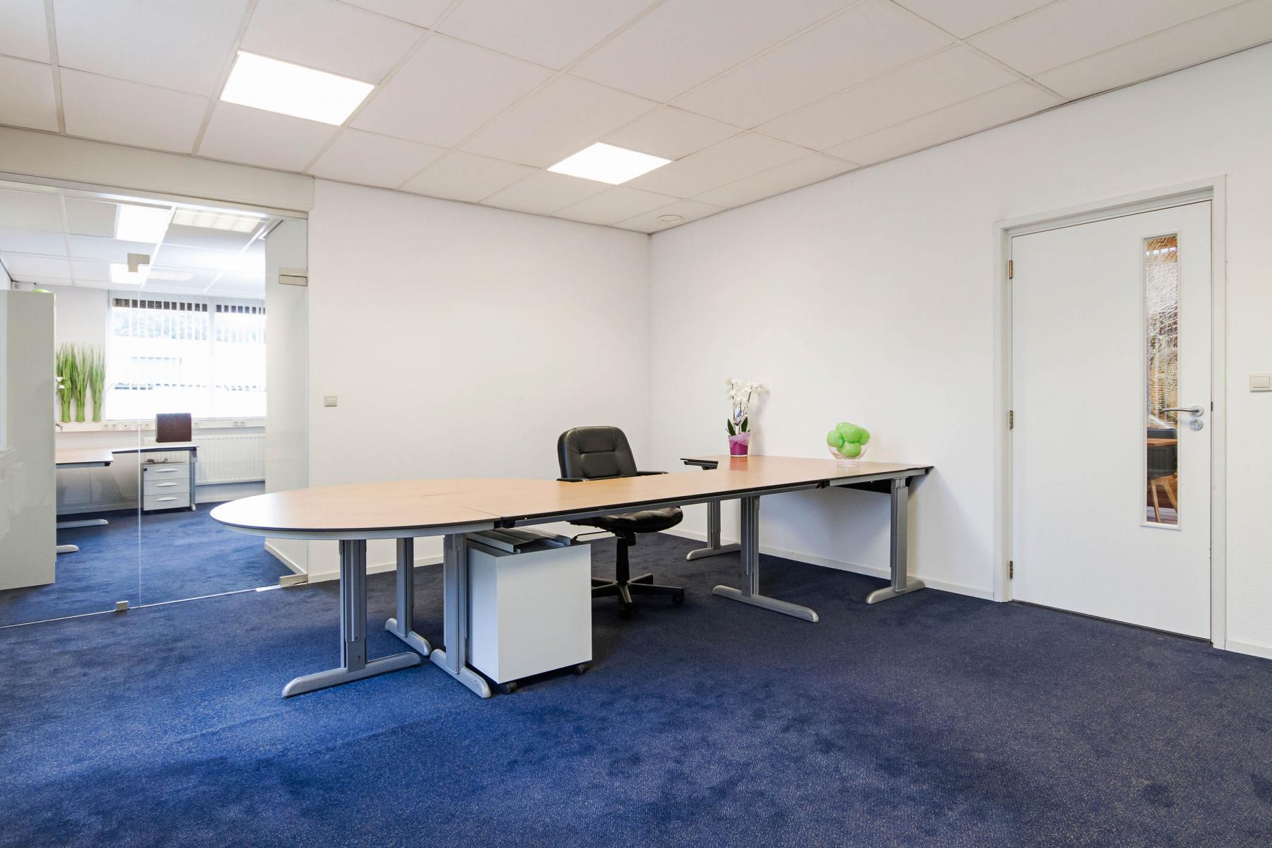 binnenzijde gesloten kantoorruimte achtergrond