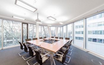 Gut ausgestattetes Business Center in Berlin Charlottenburg