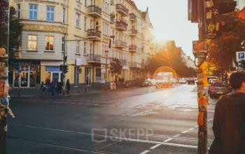 Aussicht Skalitzer Straße