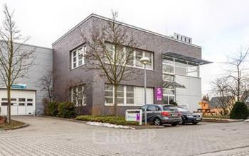 Interessante Außensicht vom Business Center in Berlin Marzahn
