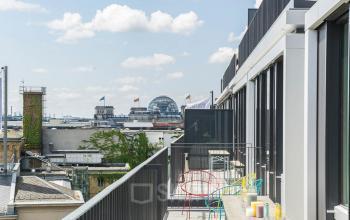 Dachterasse mit fantastischer Aussicht über Berlin