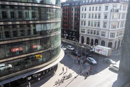 Straßenaussicht vom Büro in Berlin Moabit