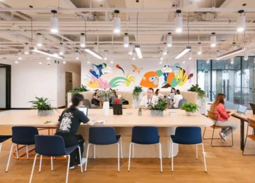 Beeindruckende Business Lounge in der Immobilie in Berlin Mitte