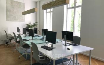 Einladendes Teambüro im Business Center in Berlin Mitte
