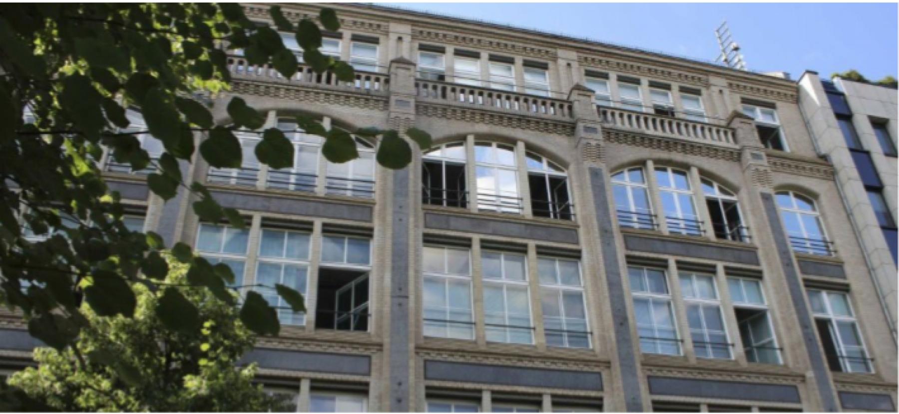 Fassade des Büros zur Miete im Herzen von Berlin