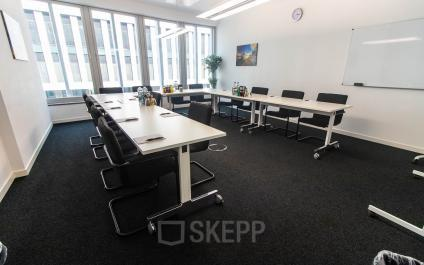 Großer Konferenzraum im Business Center in Berlin Moabit