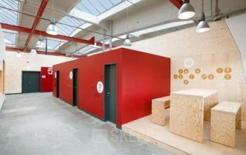 Kreative Arbeitsboxen im Business Center an der Gartenfelder Straße