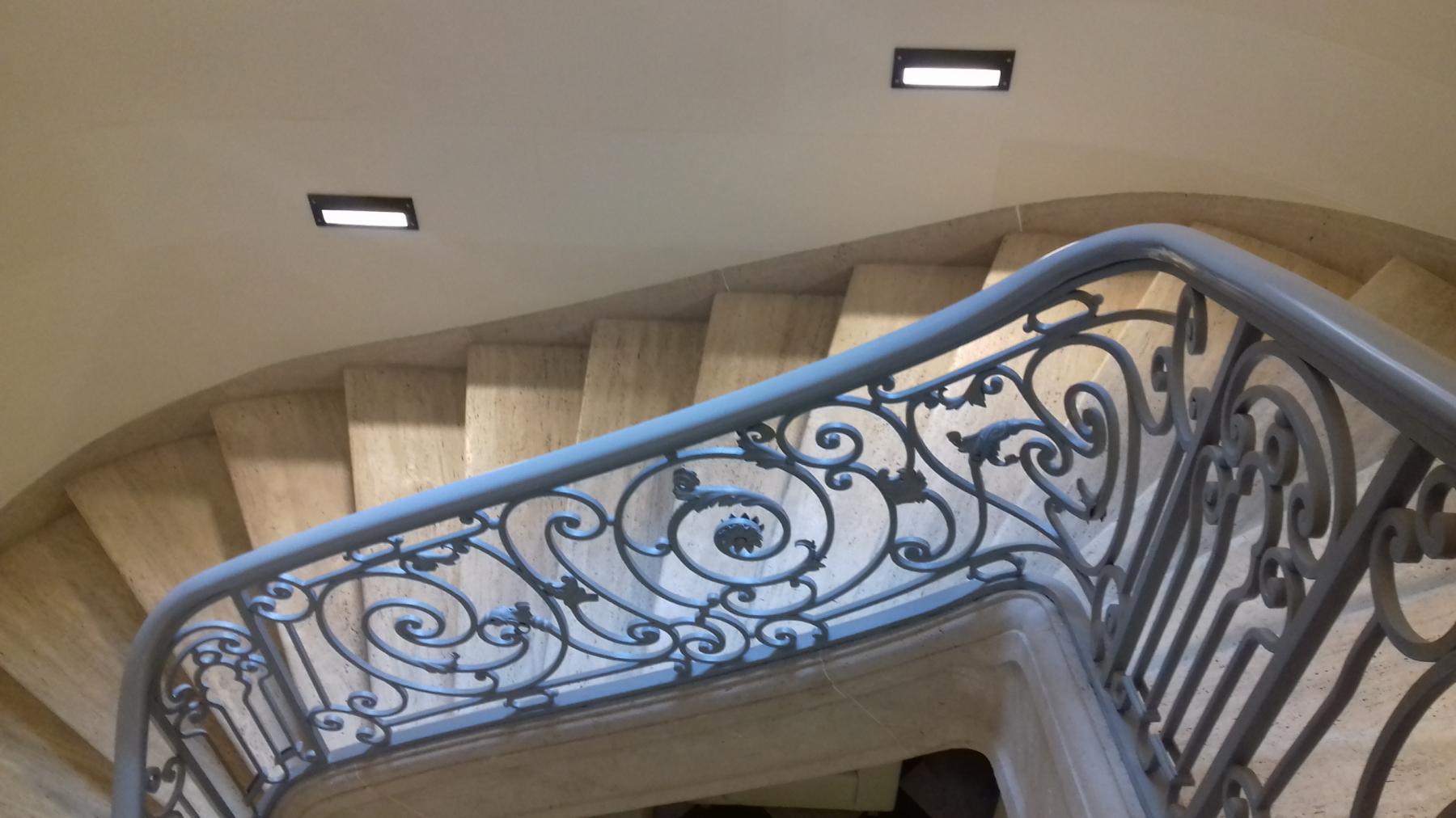schody w pałacu oppersdorfów wrocław