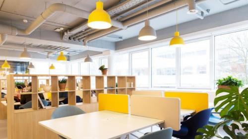 coworking plekken in mooi kantoor