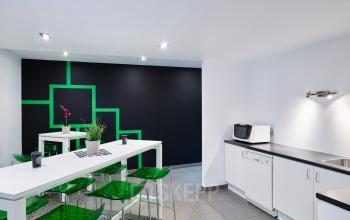 kantoor te huur leuvensesteenweg brussel keuken