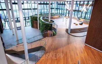 bedrijven centrum brussel airport kantoor te huur ingang