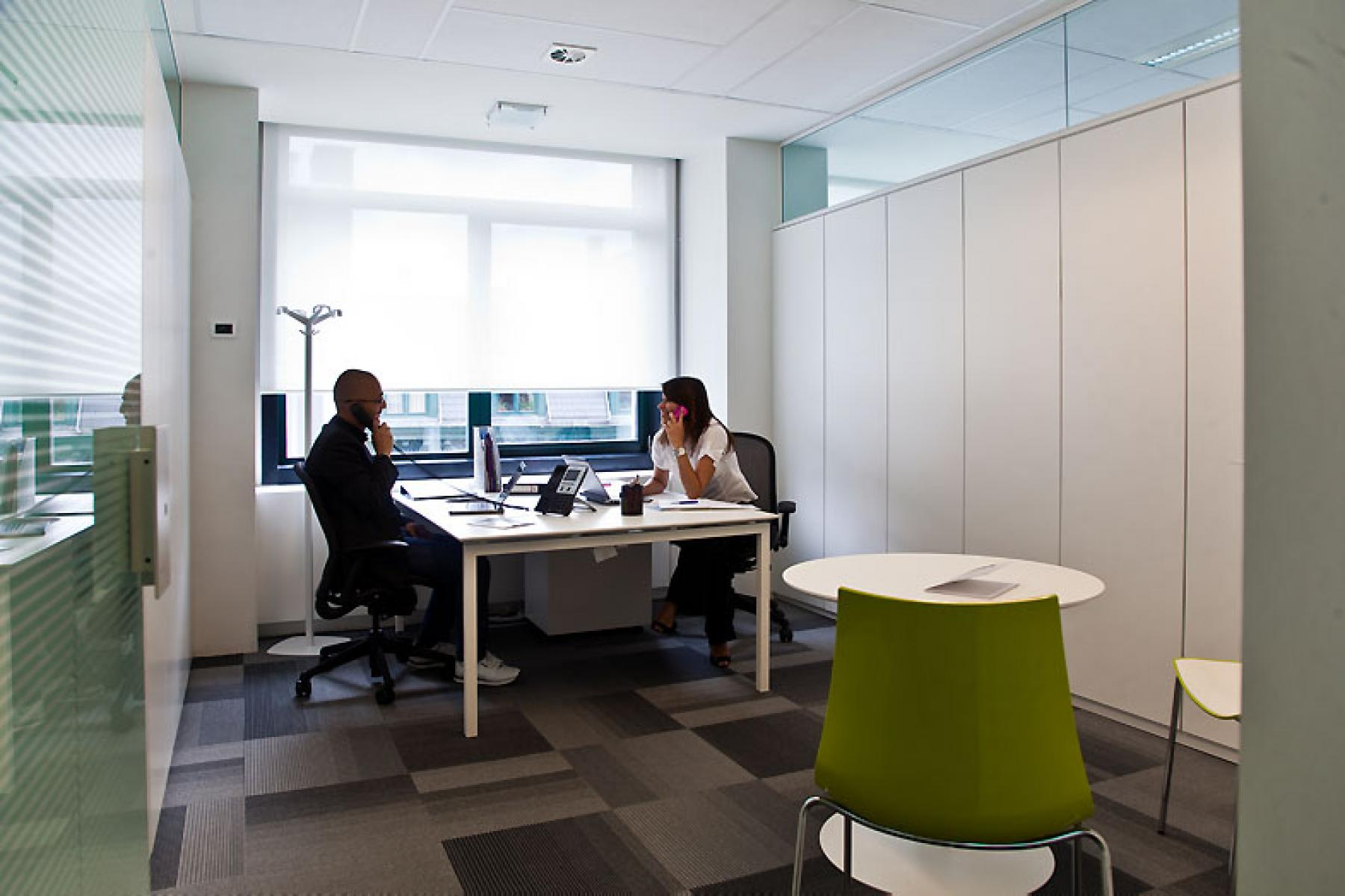kantoor kamer huren in brussel centrum