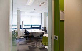 gedeelde kantoorkamer in europese wijk brussel