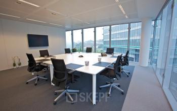 kantoorruimte brussel airport leonardo da vincilaan vergaderruimte binnenzijde kantoor stoel bureau