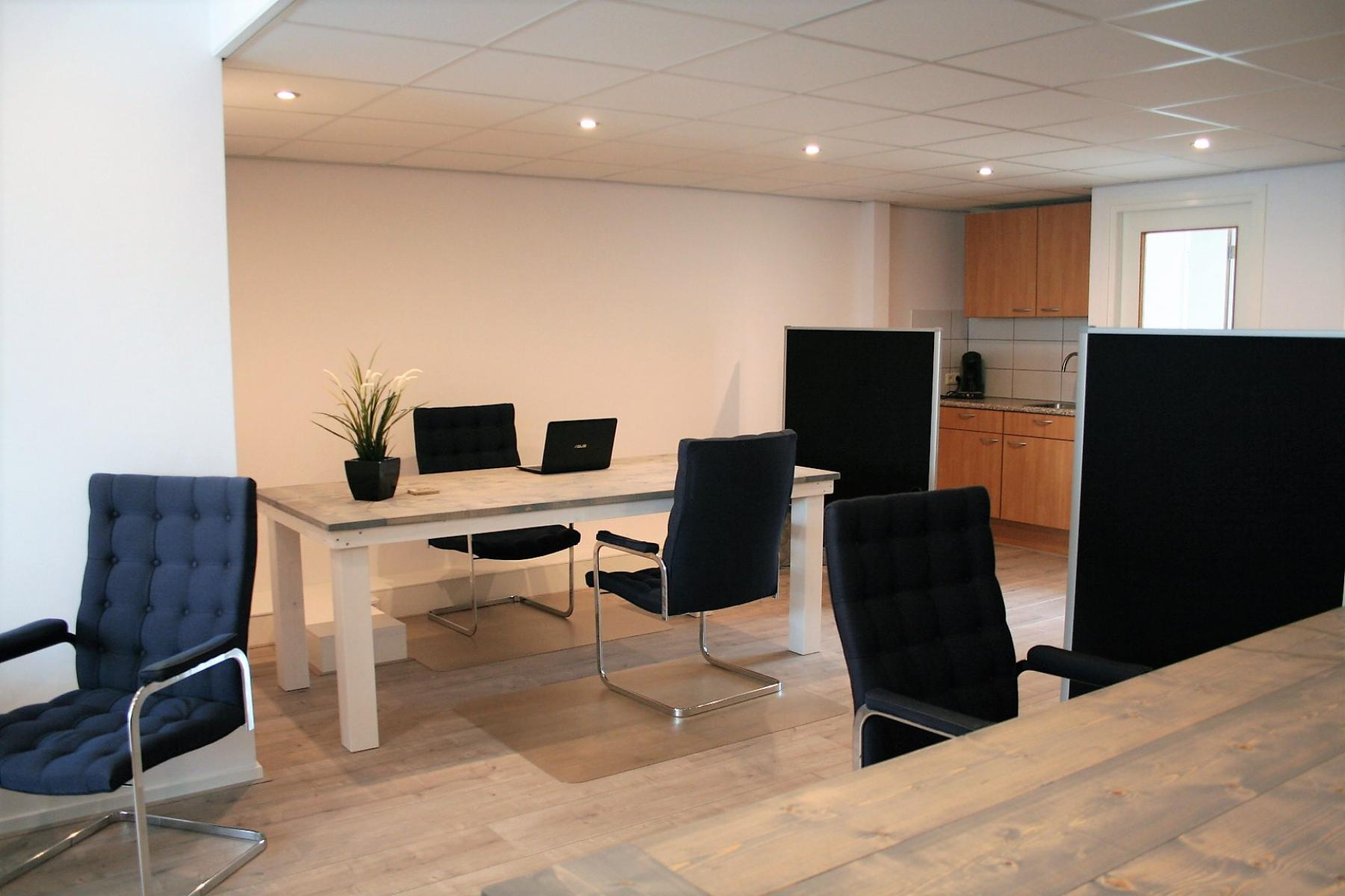 modern office space with 5 working places