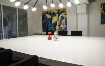 nice meeting room big table with chairs