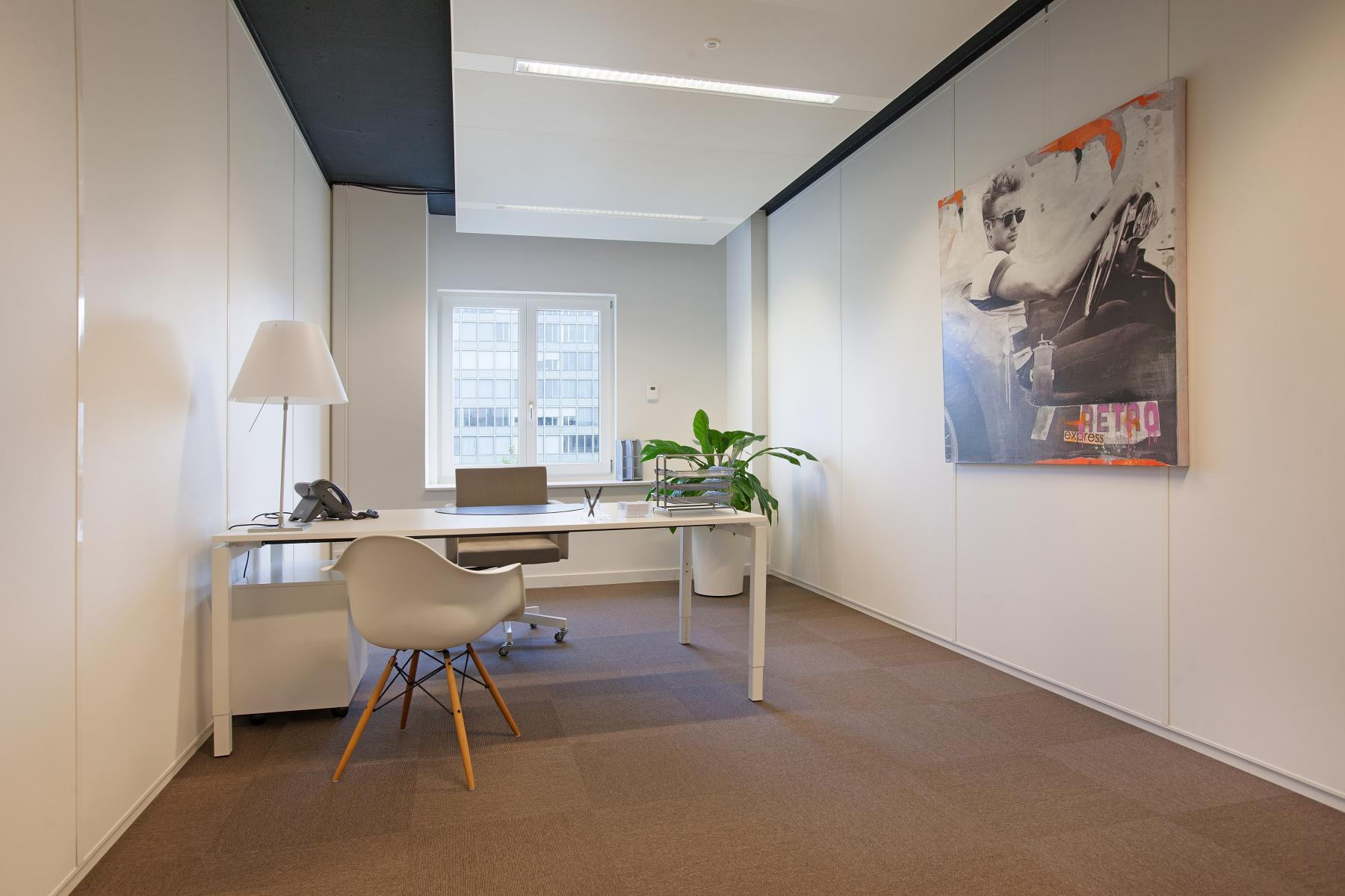 werkplek te huur Koninginnegracht Den Haag