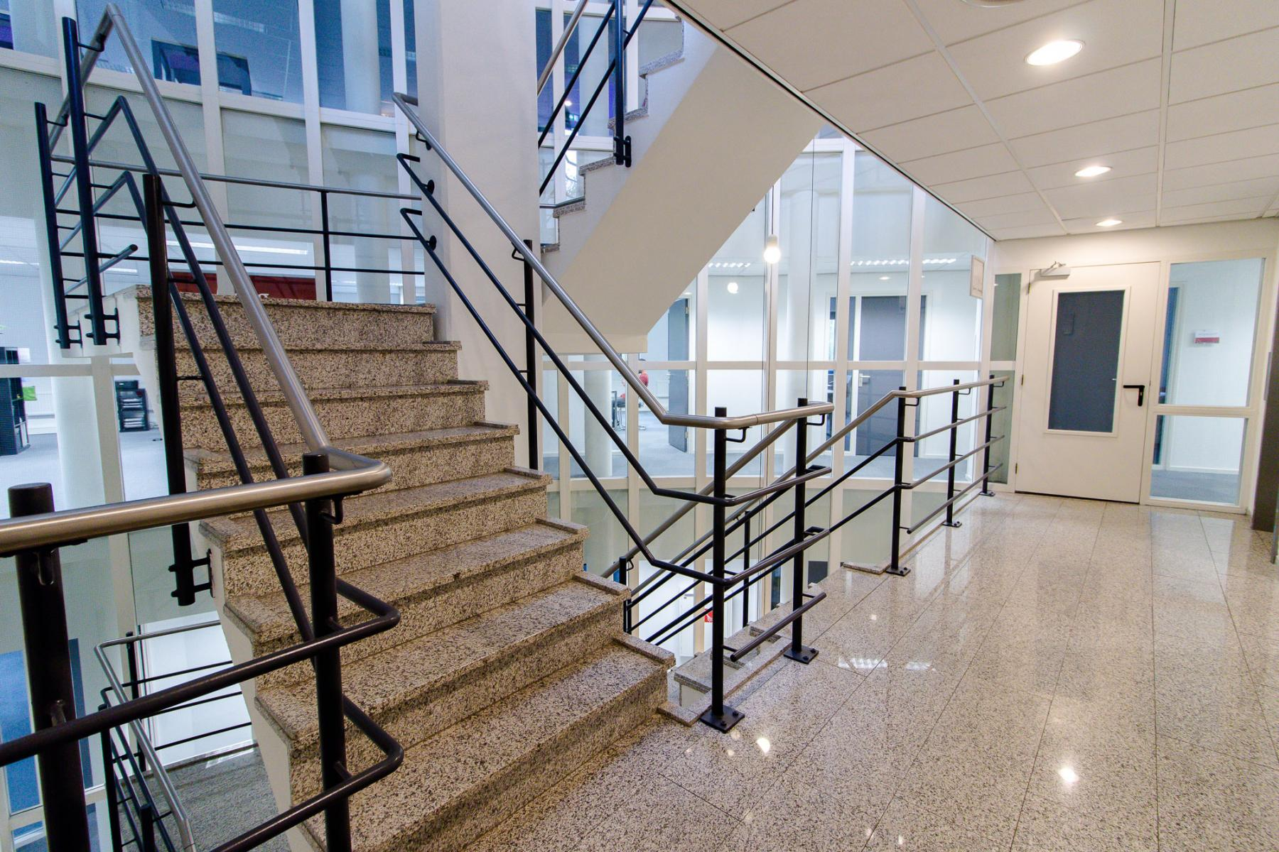 Office space with stair and elevator