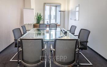 Großer Konferenzraum des Business Centers am Medienhafen in Düsseldorf