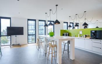 Moderner Gemeinschaftsbereich in Düsseldorf