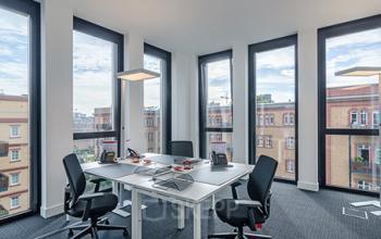Modernes Büro in Düsseldorf Nord mieten