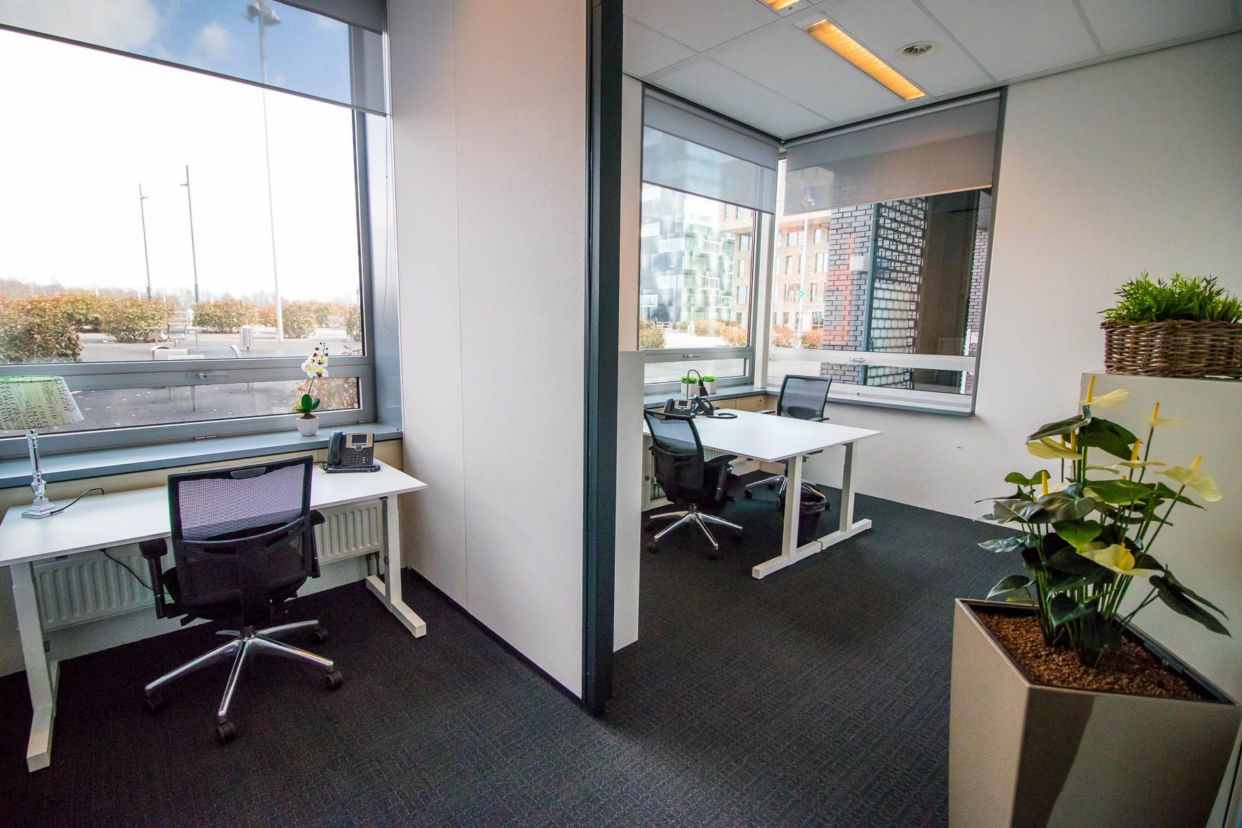 Several sizes of office spaces