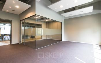 Modern office spaces, furnished and bare for rent