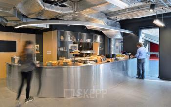 lunchroom social heart restaurant office building