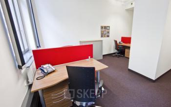Helles Büro mieten im Business Center an der Taunusanlage in Frankfurt