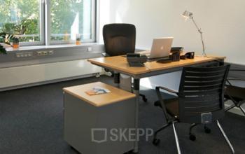 Helles Büro mieten an der Mainzer Landstraße in Frankfurt