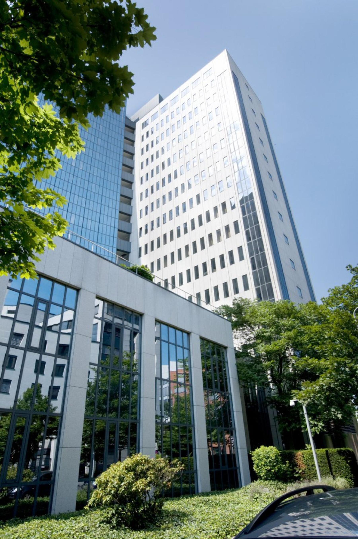 Eine Bürofläche mieten im hochmodernen Bürogebäude in Frankfurt Bockenheim