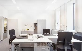 Möbelierte und geräumige Büroflächen mieten in Frankfurt Flughafen an der De-Saint-Expupéry-Straße