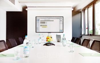 Modernes Business Center mit Konferenzraum in Frankfurt Flughafen ist im Mietpreis enthalten