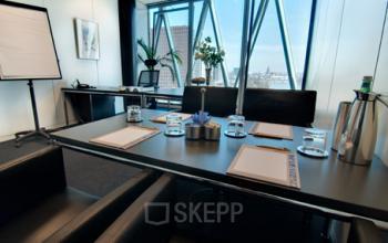 Erstklassiges Büro mieten am Westhafenplatz in Frankfurt