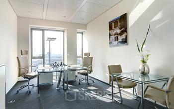 Erstklassiges Büro in Frankfurt mieten an der Friedrich-Ebert-Anlage